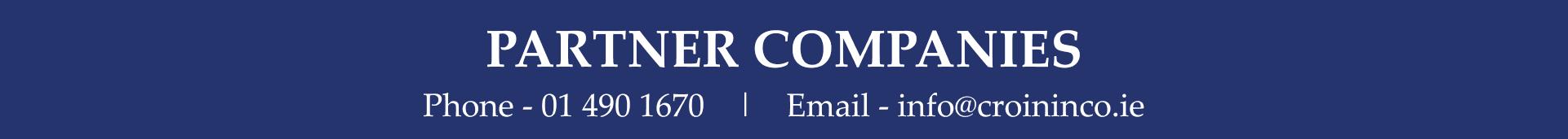 Cronin. Our partner companies